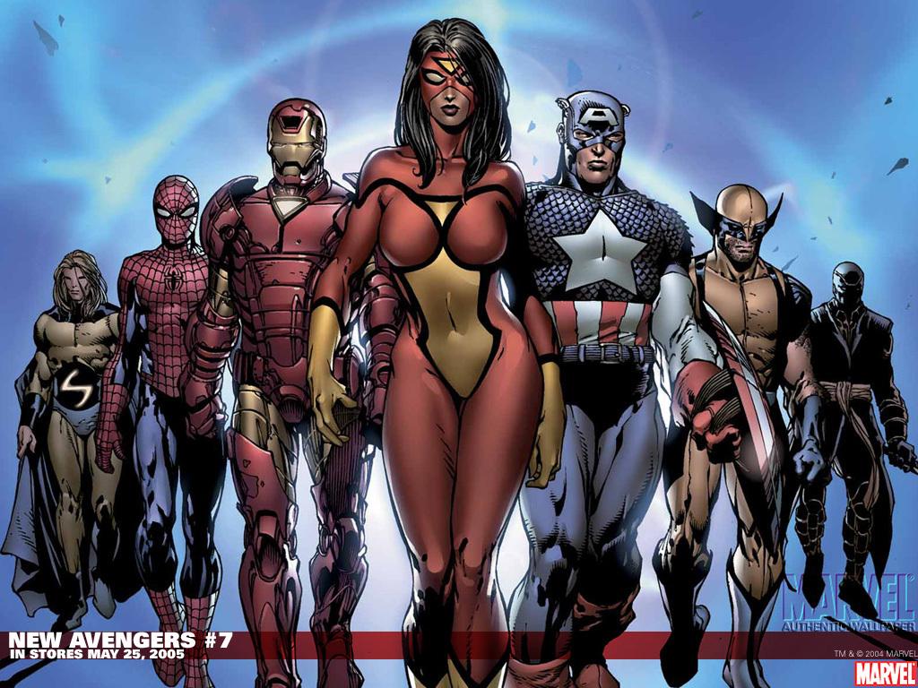 New Avengers Comic