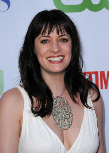 Paget Brewster wallpaper probably containing a portrait called Paget