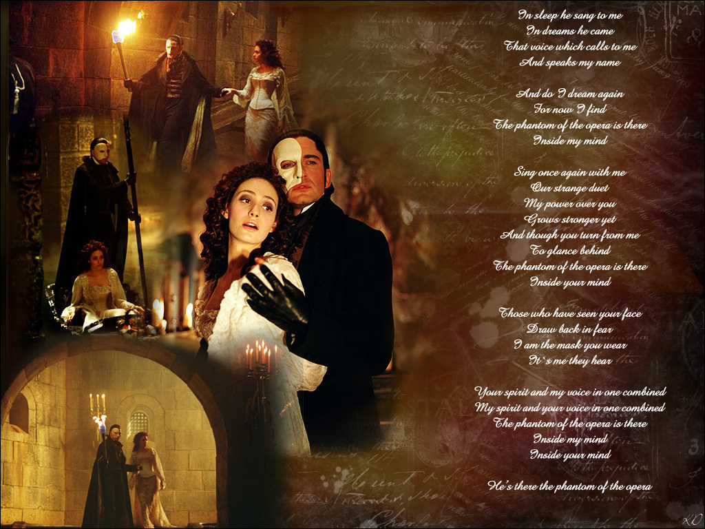 phantom of the opera wallpaper