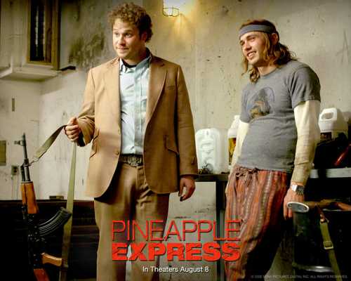 Pineapple Express kertas dinding