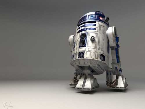 Star Wars wallpaper entitled R2-D2
