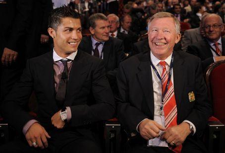 Ronaldo And Ферги :)