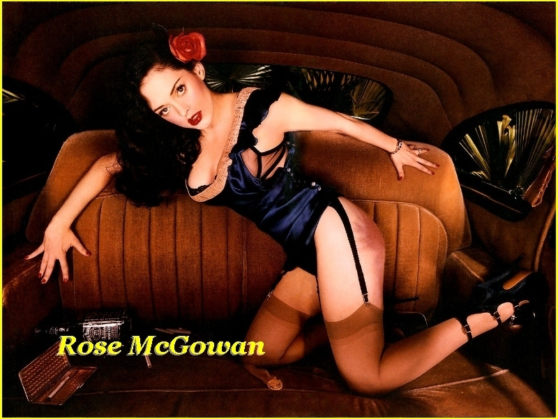 wallpaper rose mcgowan: