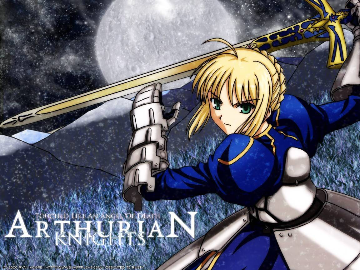 Saber knight king - Fate Stay Night Wallpaper (3907675