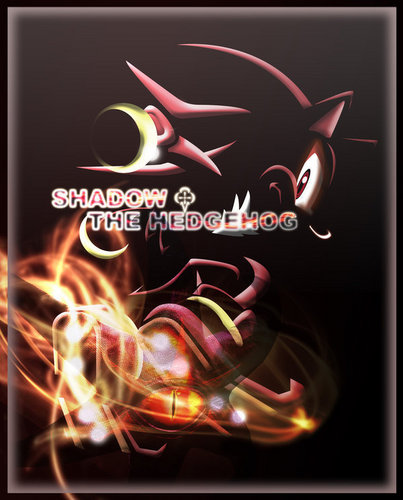 Shadow The Hedgehog wallpaper probably containing a fire entitled Shadow the Hedgehog-SEGA