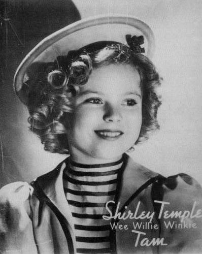 Shirley in Wee Willie Winkie