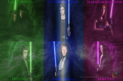 Skywalker & Solo Jedi Family