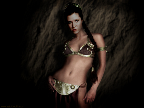 stella, stella, star Wars wallpaper entitled Slave Leia