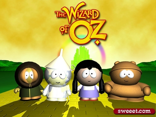 South park does the wizard of Oz - the-wizard-of-oz Wallpaper