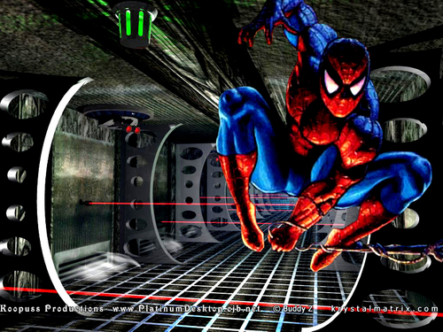 Spider-Man wallpaper possibly with animê called Spiderman