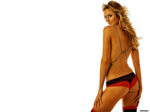 wwe divas fondo de pantalla probably with attractiveness and skin entitled Stacy Keibler