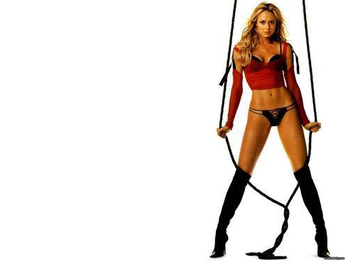 WWE Divas achtergrond titled Stacy Keibler