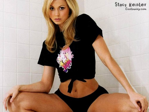 WWE Divas achtergrond probably containing a bathtub titled Stacy Keibler