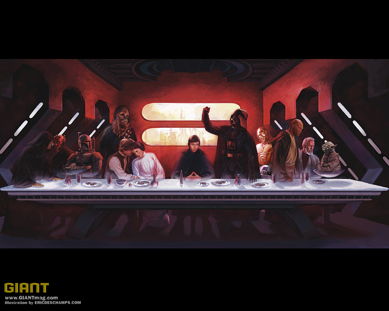 Star Wars Star Wars-The Last Supper.