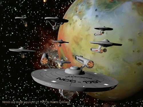 Star Trek wallpaper entitled Starfleet
