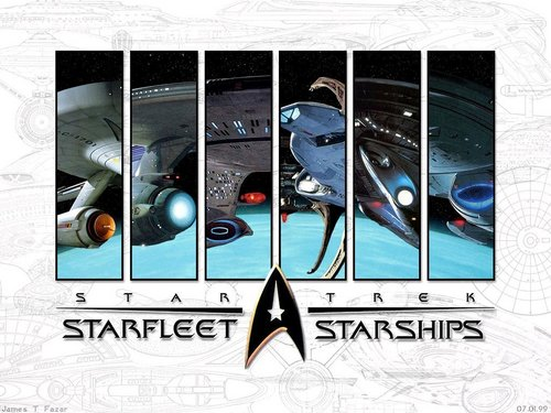 Starships - star-trek-the-next-generation Wallpaper