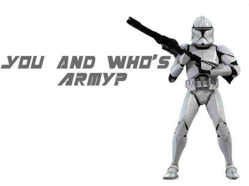 Star Wars wallpaper probably containing a breastplate and a shoulder pad titled Stormtroopers