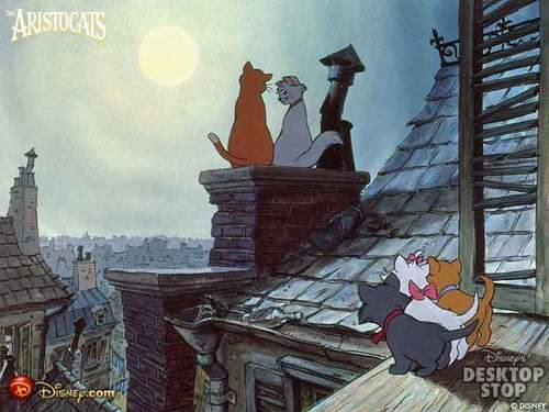 The Aristocats Rooftop