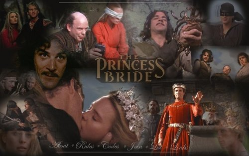 The Princess Bride پیپر وال titled The Princess Bride