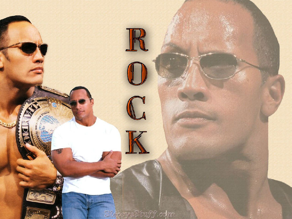 The Rock - professional-wrestling wallpaper