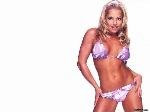 WWE Divas achtergrond possibly with a bikini entitled Trish Stratus