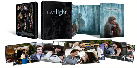 Twilight exclusive dvd pack