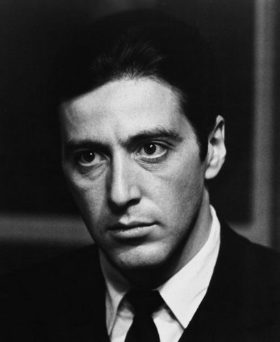 Al Pacino wallpaper containing a business suit and a suit entitled Young Al