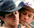brokeback mountain (autographs)