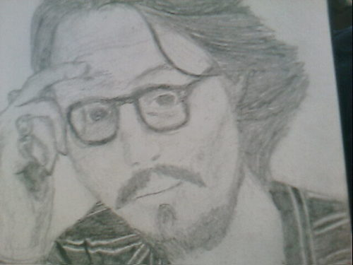 johnny depp my drawings