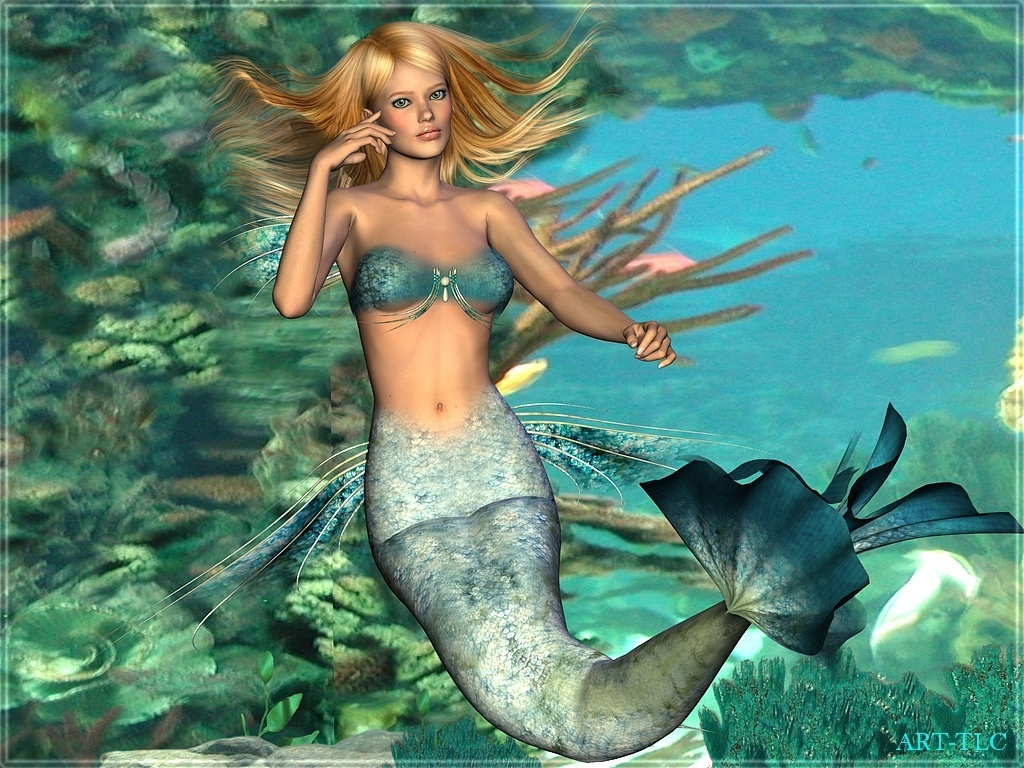 Swimming Mermaids Wallpapers
