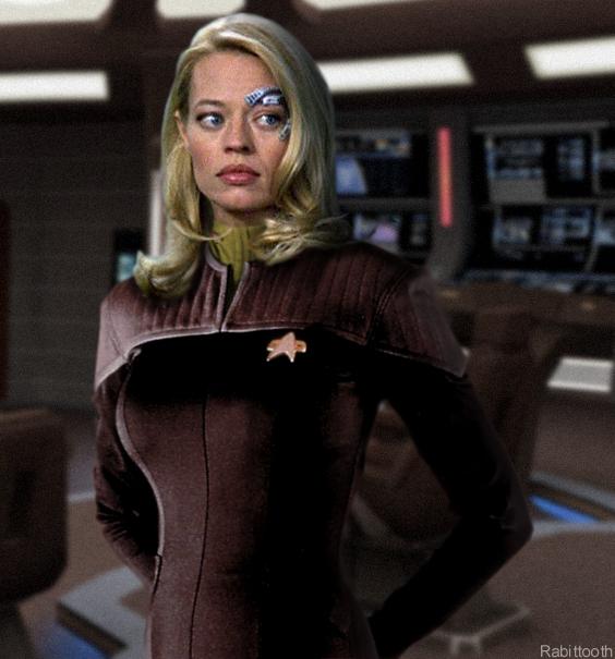 7 Of 9 joins Starfleet