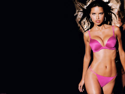 Victoria's Secret wallpaper with a bikini titled Adriana F Lima