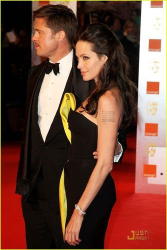Angelina Jolie - 2009 BAFTA Awards