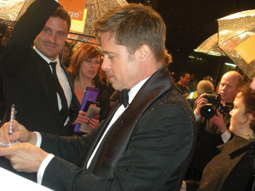 Brad at the BAFTA's 2009