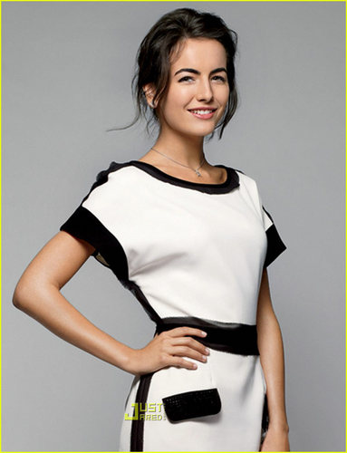 Camilla Belle- Lucky Magazine- March 2009