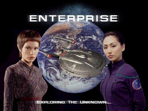 ngôi sao Trek - Enterprise hình nền called Crew