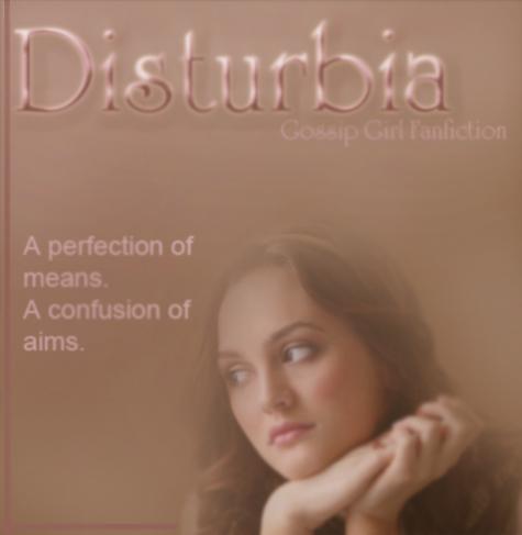 Disturbia Cover Art One