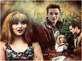 Dylan and Brenda - beverly-hills-90210 wallpaper