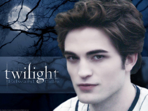 Twilight Series wallpaper with a portrait entitled Edward Cullen
