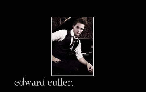 Edward पियानो वॉलपेपर