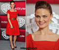 Emily Deschanel at the Golden Globes afterparty - emily-deschanel photo