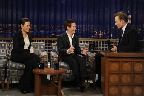Evi @ Conan O'Brien