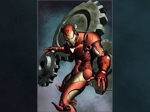 Iron Man wallpaper containing anime entitled Ironman
