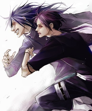 Itachi and Madara
