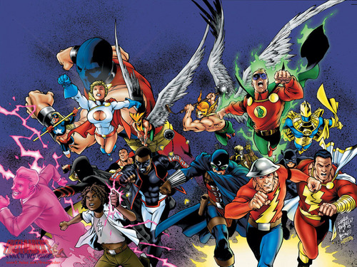 JSA - dc-comics Wallpaper
