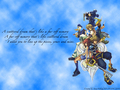 kingdom-hearts - KH2 logo wallpaper