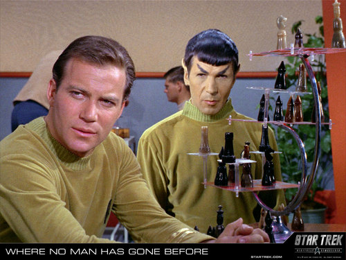 Star Trek: The Original Series wallpaper called Kirk & Spock