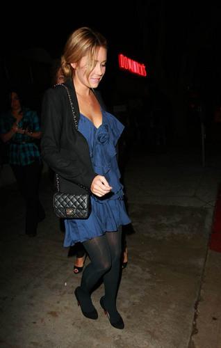 Lauren @ night in Hollywood