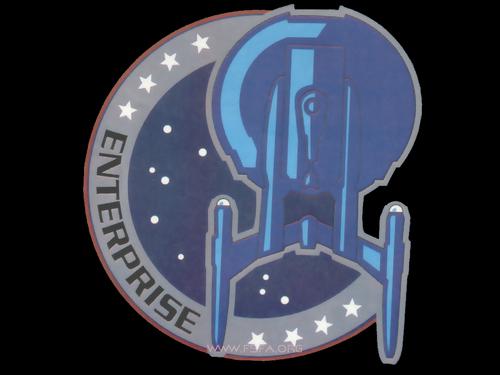étoile, étoile, star Trek - Enterprise fond d'écran titled Logo