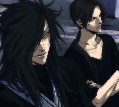 Madara and Itachi